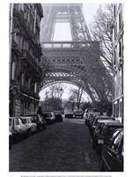 "Street View of ""La Tour Eiffel"" Fine-Art Print"