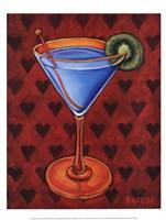 Martini Royale - Hearts Fine-Art Print