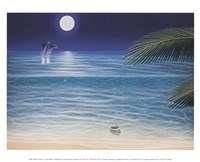 Moonlit Palms Fine-Art Print