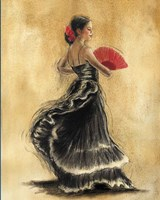 Flamenco Dancer II Fine-Art Print