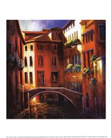 Sunset in Venice Fine-Art Print