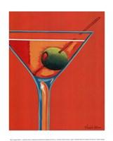 Sunglow Martini I Fine-Art Print