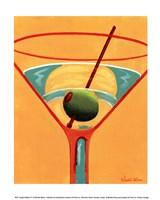 Sunglow Martini III Fine-Art Print