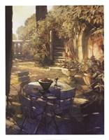 Sunlit Terrace, Crillon le Brave Fine-Art Print