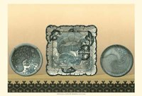 Porcelain In Teal II Fine-Art Print