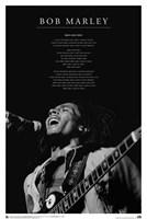 Bob Marley - Iron Lion Zion Wall Poster