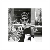 Audrey Hepburn – Window Fine-Art Print