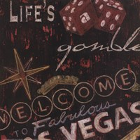 Life's A Gamble Fine-Art Print