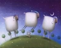 Insomniac Sheep Fine-Art Print
