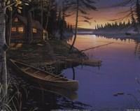 Canoe at the Cabin Fine-Art Print