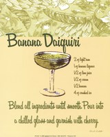 Banana Daiquiri Fine-Art Print
