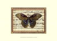 Butterfly Harmony I Fine-Art Print