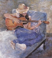 Tessa's Guitar Fine-Art Print