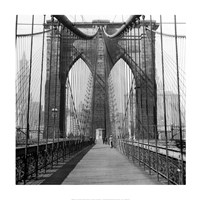 The Brooklyn Bridge, Sunday AM Fine-Art Print