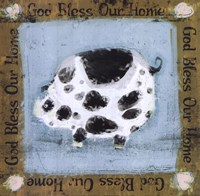 God Bless Our Home Fine-Art Print