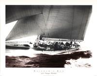 Rainbow's Run 1934 Vintage Maritime Fine-Art Print