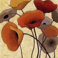 Pumpkin Poppies III Fine-Art Print