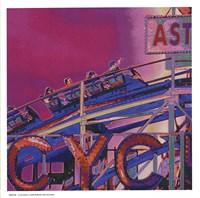 Ride the Cyclone in Pink Fine-Art Print