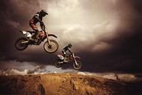 Motocross - Big Air Fine-Art Print