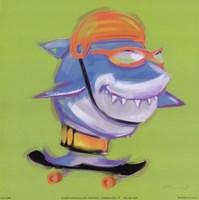 Shark Attack Fine-Art Print