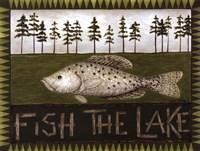 Fish The Lake Fine-Art Print