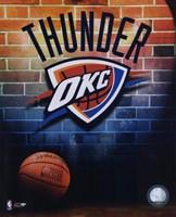 2008-09 Oklahoma Thunder Team Logo Fine-Art Print