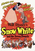 Snow White and the Seven Dwarfs Heigh-Ho! Fine-Art Print