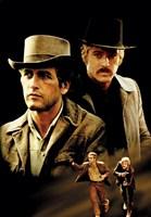 Butch Cassidy and the Sundance Kid Cast Fine-Art Print