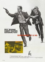 Butch Cassidy and the Sundance Kid Running Fine-Art Print