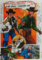 Butch Cassidy and the Sundance Kid Comic Fine-Art Print