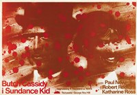 Butch Cassidy and the Sundance Kid Blood Splatter Fine-Art Print