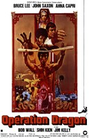 Enter the Dragon Nunchucks Fine-Art Print