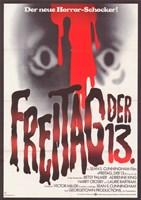 Friday the 13th (german) Fine-Art Print