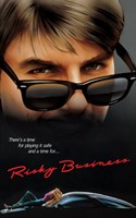 Risky Business Playing Safe Quote Fine-Art Print