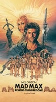 Mad Max Beyond Thunderdome Vertical Fine-Art Print