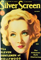 Marlene Dietrich - Silver Screen Fine-Art Print