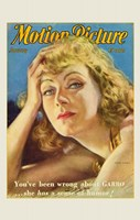 Greta Garbo - Motion Picture Fine-Art Print