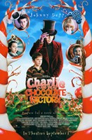 Charlie and the Chocolate Factory Candy Cane Trees Fine-Art Print