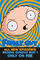 Family Guy Stewie Fine-Art Print