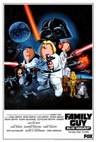 Family Guy Star Wars Fine-Art Print