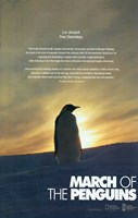 March of the Penguins Silhouette Fine-Art Print