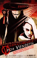 V for Vendetta Pop Fine-Art Print