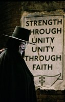 V for Vendetta Sign Fine-Art Print