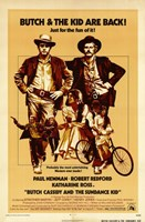 Butch Cassidy and the Sundance Kid Beige Fine-Art Print
