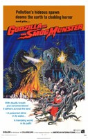 Godzilla vs. Smog Monster Fine-Art Print
