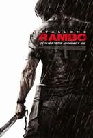 Rambo - Rain Fine-Art Print