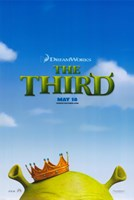 Shrek the Third King Fine-Art Print