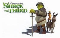 Shrek the Third Knight Fine-Art Print
