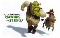 Shrek the Third Racing Donkey Fine-Art Print