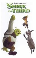 Shrek the Third Jumping Fine-Art Print